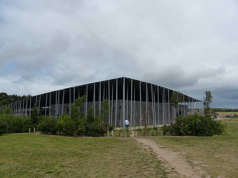 Das neue Besucherzentrum. Foto: Ronald Keusch