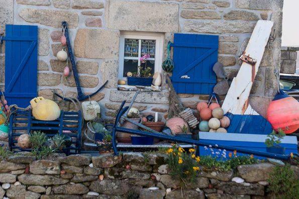 Haus eines Fischers am Pointe du Raz. / Foto: DERENNES Yannick