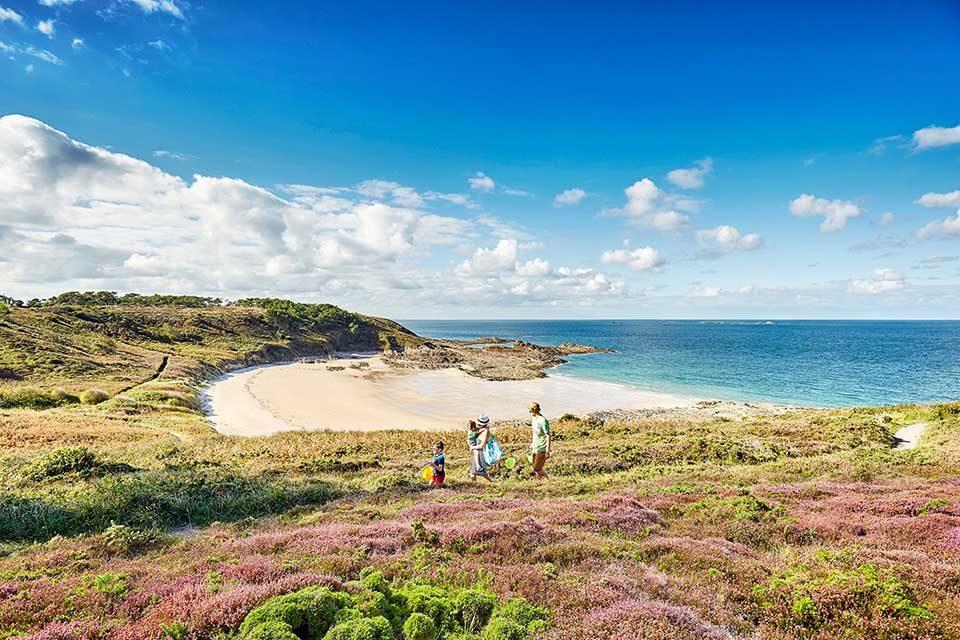 Schöne Landschaften und Strände in der Bretagne. Foto: LAMOUREUX Alexandre