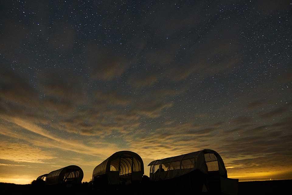 Sterne gucken im Dark Sky Park. Foto: NBTC