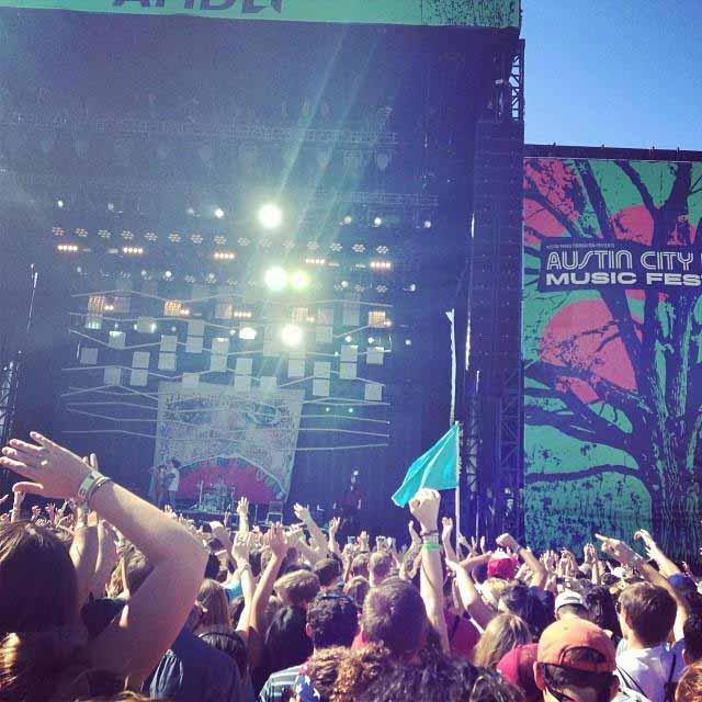 Im Oktober erklimmt die Elite des Musikolymps beim Austin City Limits Music Festival die Bühne. Foto: Texas Tourism