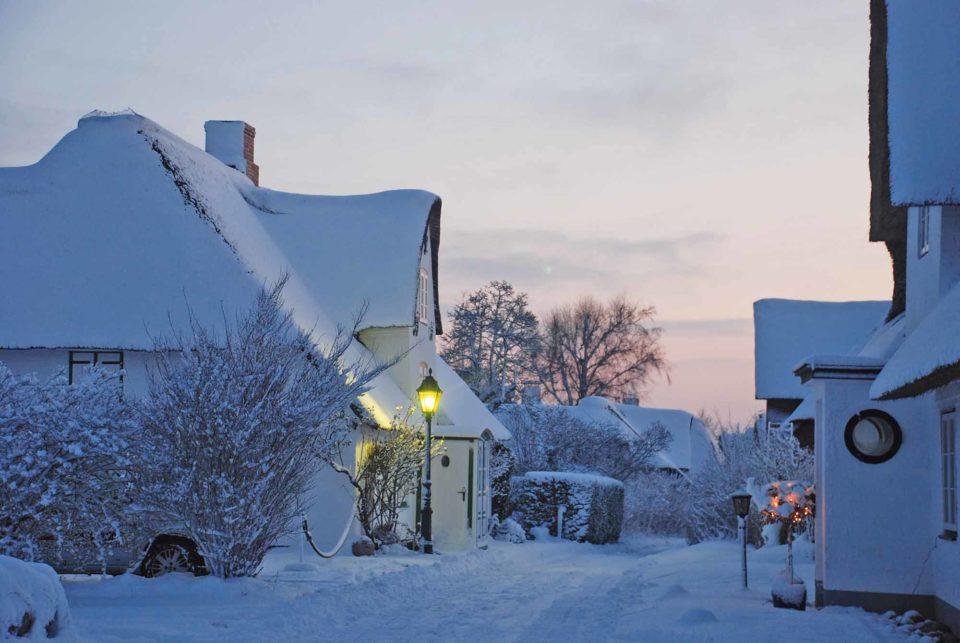 Die Nordseeinsel Amrum im Winter / Foto: Kai Quedens