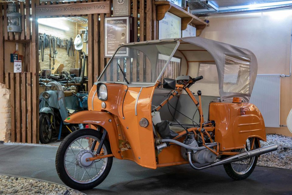 Versehrtenfahrzeug DUO 4-1 / Copyright: DDR Museum, Berlin 2021