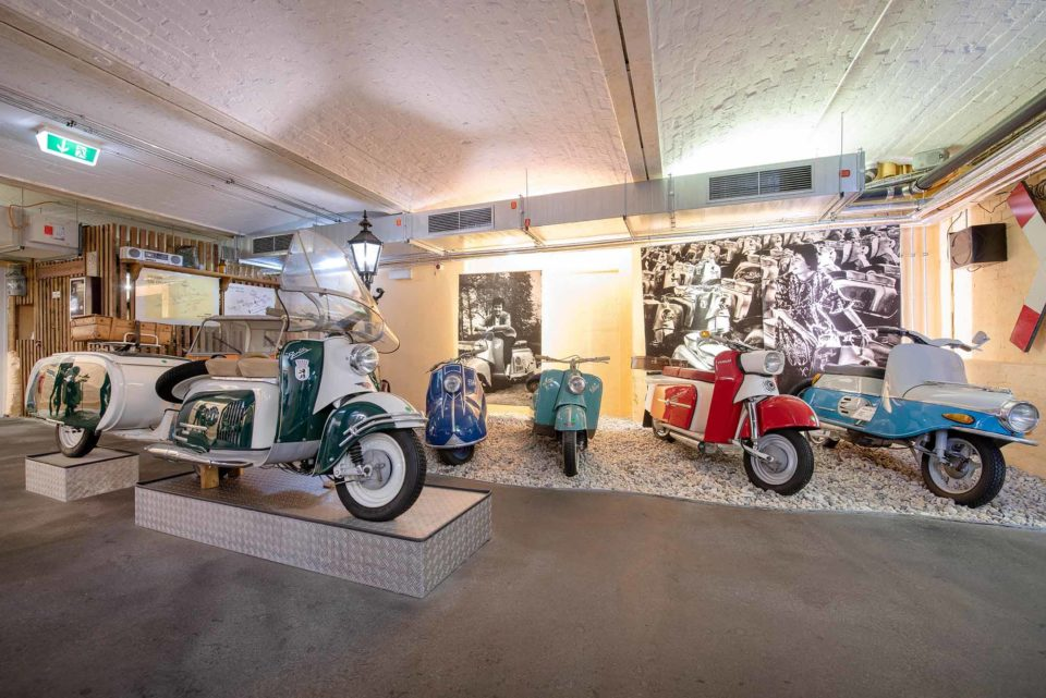 IWL-Zweiräder / Copyright: DDR Museum, Berlin 2021