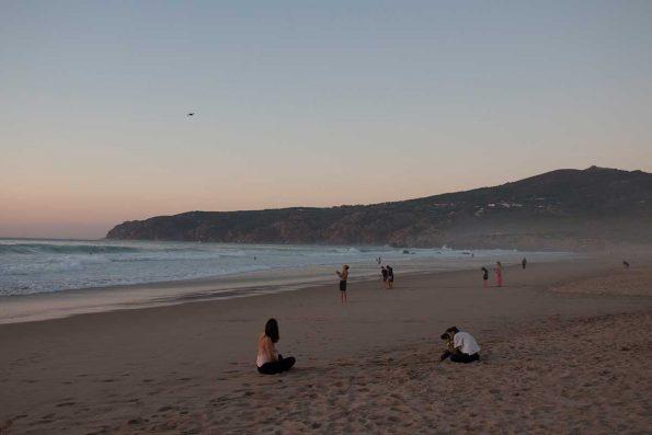 Der Strand bei Guincho. Foto: Ingo Paszkowsky